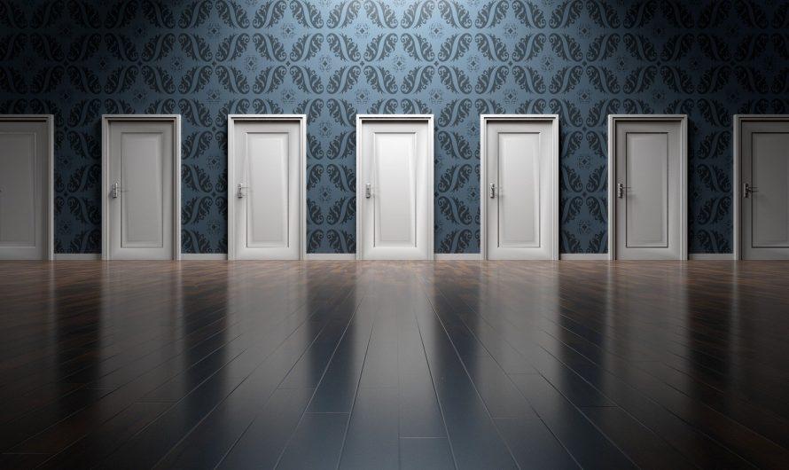 Les différents types de poignées de porte pour une porte coulissante
